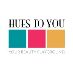Hues To You logo & tagline